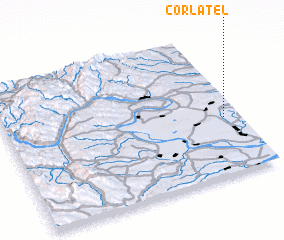 3d view of Corlăţel