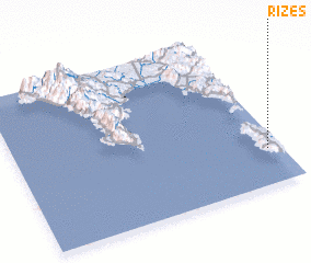 3d view of Rízes