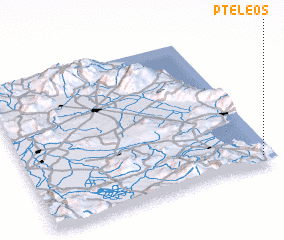 3d view of Pteleós