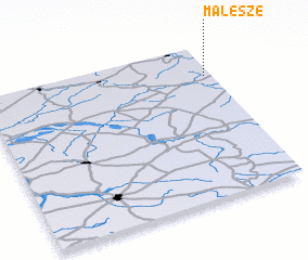 3d view of Malesze