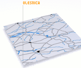 3d view of Oleśnica