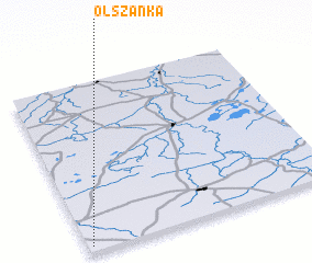 3d view of Olszanka