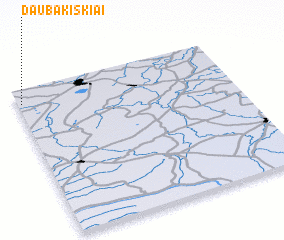 3d view of Daubakiškiai