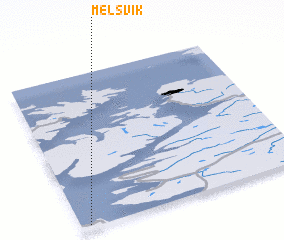 3d view of Melsvik