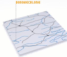 3d view of Borowiec Błonie