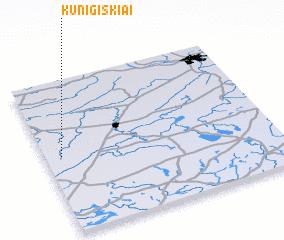 3d view of Kunigiškiai