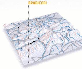 3d view of Brădiceni