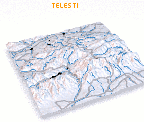 3d view of Teleşti