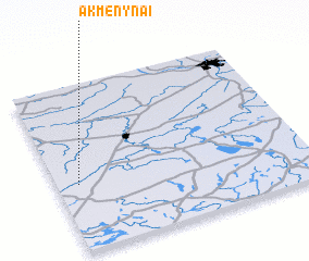 3d view of Akmenynai