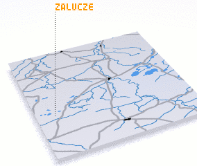 3d view of Załucze