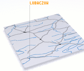 3d view of Lubaczów