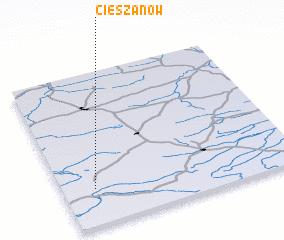 3d view of Cieszanów