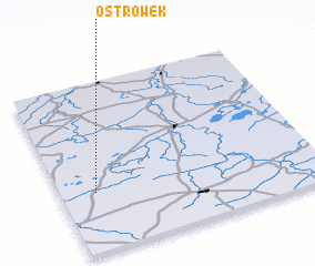 3d view of Ostrówek