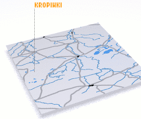 3d view of Kropiwki