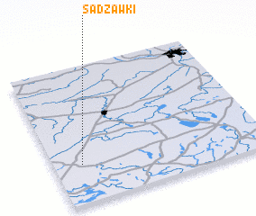 3d view of Sadzawki