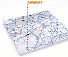 3d view of Găvăneşti