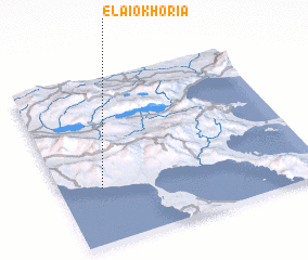 3d view of Elaiokhória