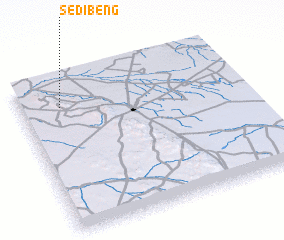 3d view of Sedibeng
