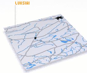 3d view of Lukšiai