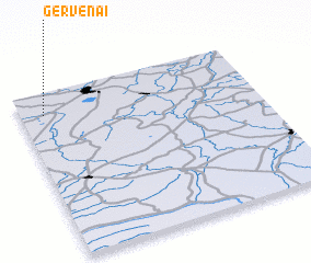 3d view of Gervėnai