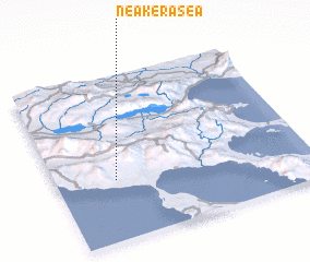 3d view of Néa Keraséa