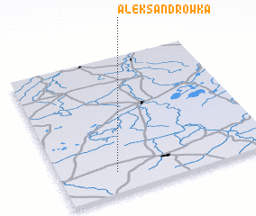 3d view of Aleksandrówka