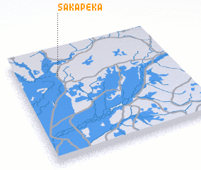 3d view of Sakapeka