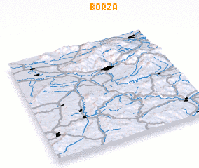 3d view of Borza