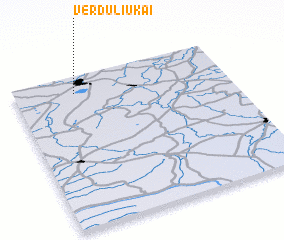 3d view of Verduliukai
