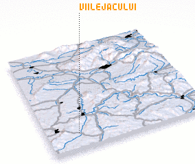 3d view of Viile Jacului