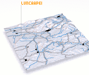3d view of Lunca Apei