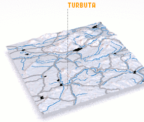 3d view of Turbuţa