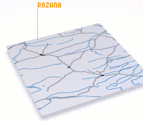 3d view of Różana