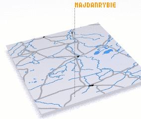 3d view of Majdan Rybie
