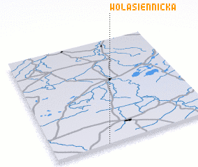 3d view of Wola Siennicka