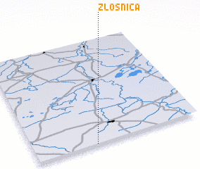 3d view of Złośnica