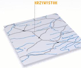 3d view of Krzywystok