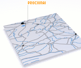 3d view of Pročiūnai