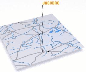 3d view of Jagodne