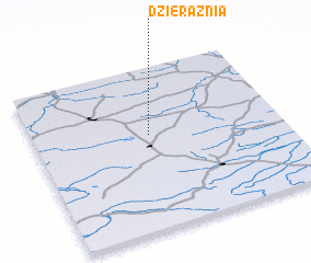 3d view of Dzierążnia