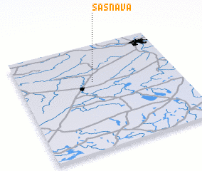 3d view of Sasnava
