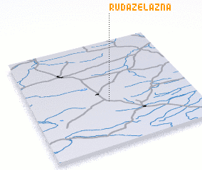 3d view of Ruda Żelazna