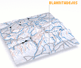 3d view of Blahniţa de Jos