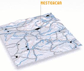 3d view of Mesteacăn