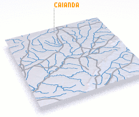 3d view of Caianda