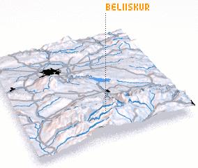 3d view of Beli Iskŭr