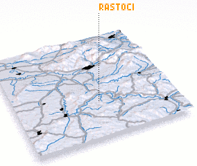 3d view of Răstoci