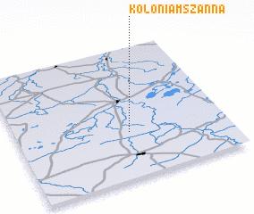 3d view of Kolonia Mszanna
