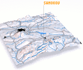 3d view of Samokov