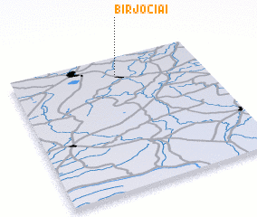 3d view of Birjočiai
